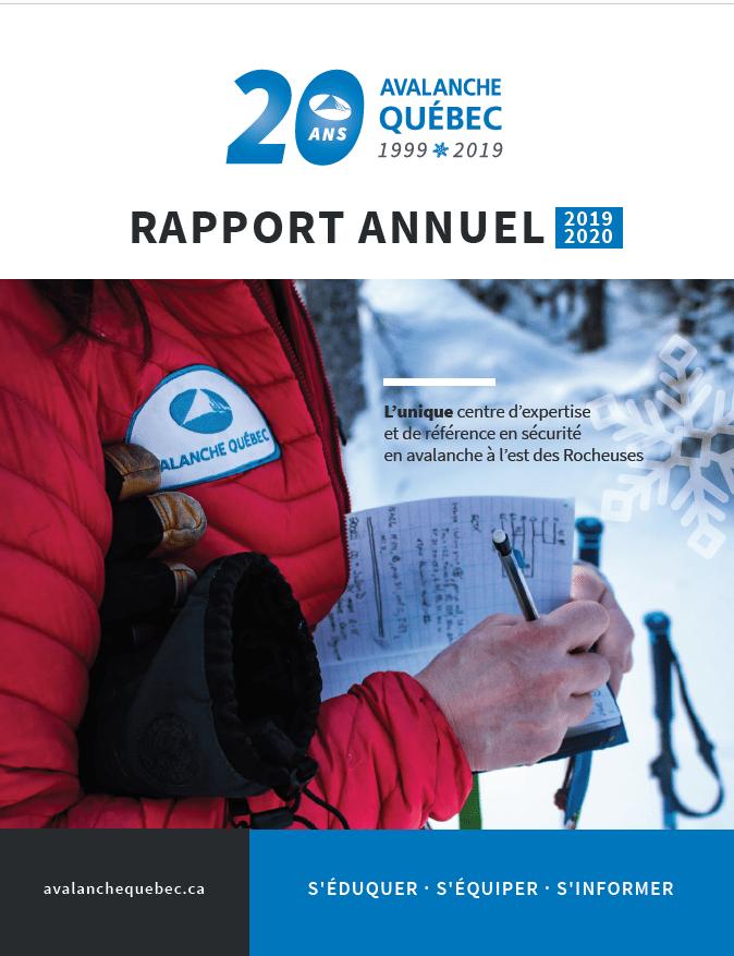couverture rapport annuel 19-20