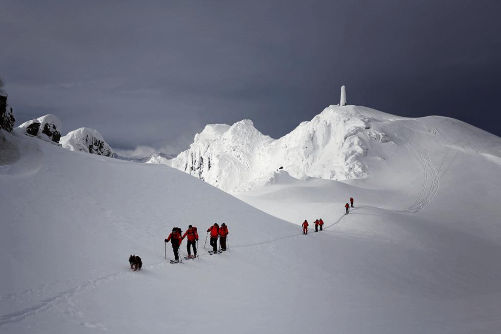 Évolution skieur Crédit Douglas Noblet