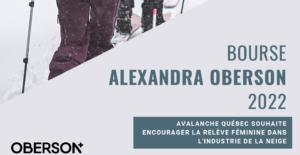 Bourse Alexandra Oberson 2022 large encouragement