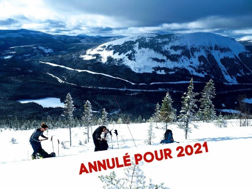Niveau 1 2021 annulé