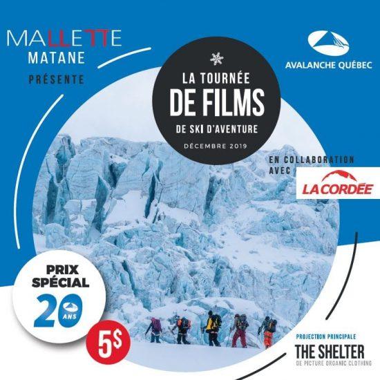 TOURNÉE DE FILMS (terminée)